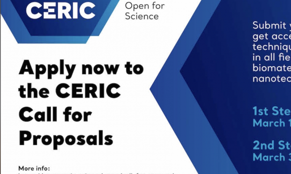 CERIC is calling for proposals!